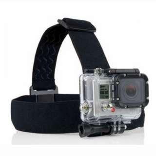 Adjustable Head Strap Mount For Camera GoPro Hero 4 3+ 3 2 SJ4000
