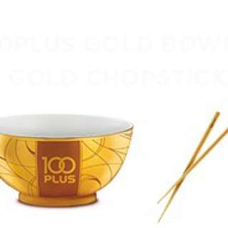 Limited Edition/ Collection (100 PLUS Collectible)/ Bowl/ Chopstick/ Drinks