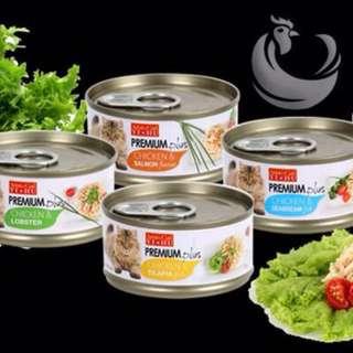 Aristo Cat Premium Plus Chicken Series Cat Food, 24 cans