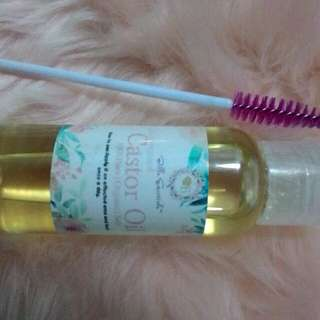 Coldpressed castor oil