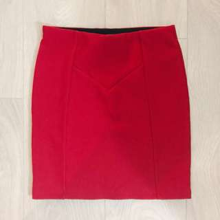 🌸F21 red mini skirt🌸