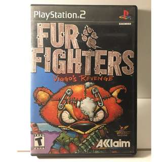 Sony PlayStation 2 - Fur Fighters: Viggo's Revenge
