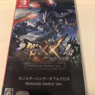 放switch monster hunter x