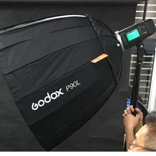 Godox P90l deep octa Softbox