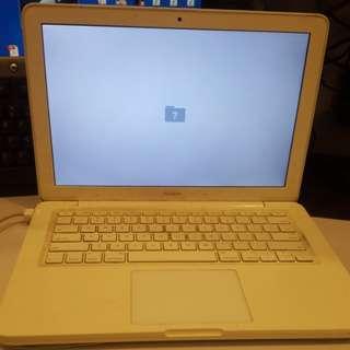 Clearing Macbook white year 2009