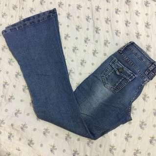 Bnotcut bell bottom jeans