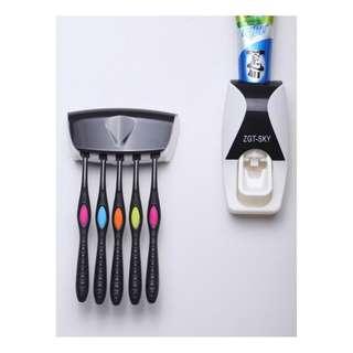 ZGT-SKY Toothpaste dispenser odol & tempat sikat - HBH084