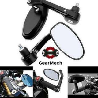*New* Oval Bar End Mirror for Motorbike (Self collection/ Postage)