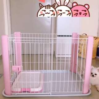 JAPAN IRIS Dog Cage