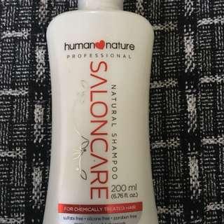Human Nature Natural Shampoo/ Salon Care