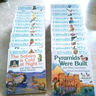 Groiler's I Wonder Why Books