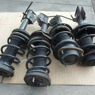 Subaru STI 2.5 GRF Stock Suspension