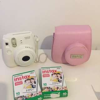 Polaroid instax camera