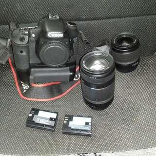 Canon eos 7d 少用