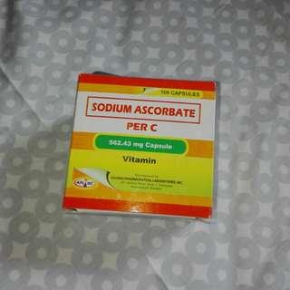 Vitamin C Sodium Ascorbate (562.43 mg) 10 capsules