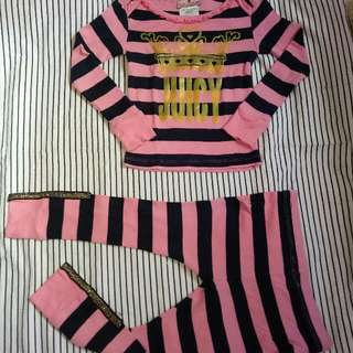 juicy couture brand set terno
