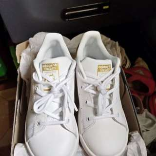 Authentic Adidas Stansmith Gold