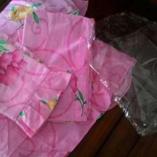 Seprai pink bunga-bunga