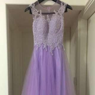 婚禮Evening gown 95%new 晚裝 wedding 禮宴 prewedding
