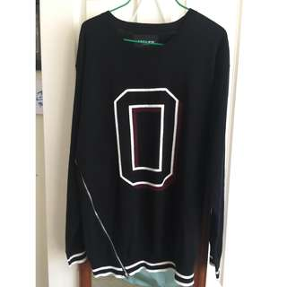 Obey Jumper with Zip