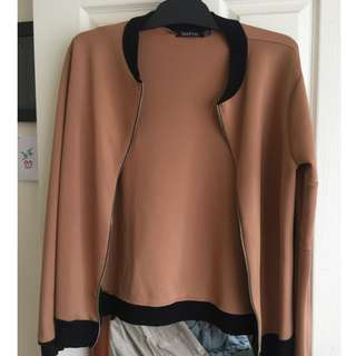 Worn jackets from Boohoo