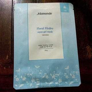 5 pcs Mamonde Floral Hydro aqua gel sheet mask