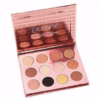 ✨INSTOCK SALE: COLOURPOP Pressed Powder EyeShadow Palette in I Think I Love You