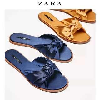 ZARA Bow Sandals