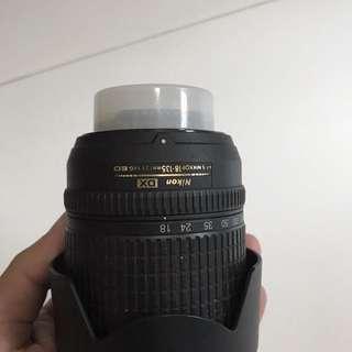 Nikon Lens 18-135 mm non VR