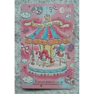 Little Twin Stars Merry-Go-Round EZlink card