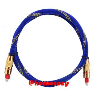 (BN) Premium HQ Gold Plated Toslink Optical Audio Cable - 2m (Brand New)