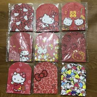 Hello Kitty My Melody Red Packets