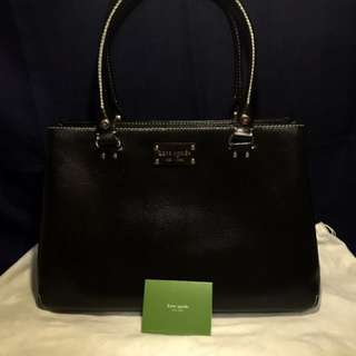 Kate Spade ♠️ Wellesley Fallon XL Tote - Black