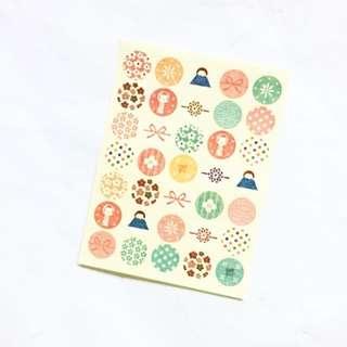 Japan Themed Maru Sticker