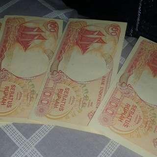 Uang kertas Rp100