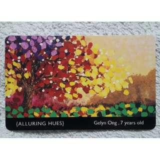 Alluring Hues ezlink card