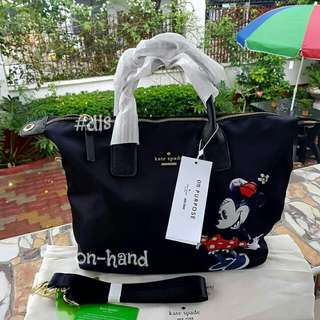 Kate Spade Bag Minnie Mouse Edition