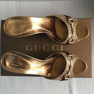 GUCCI high heeled sandals / shoes