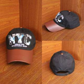 Topi Baseball NYC Army Black