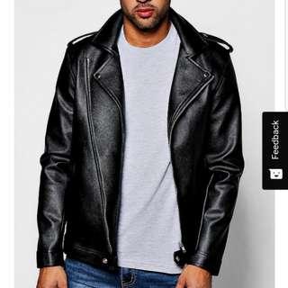 Boohoo Faux Leather Jacket