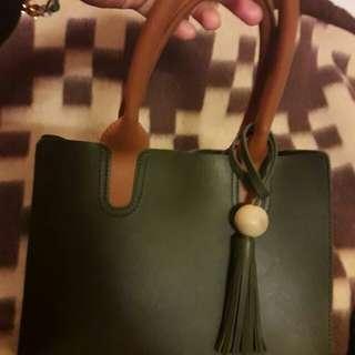 子母手提包