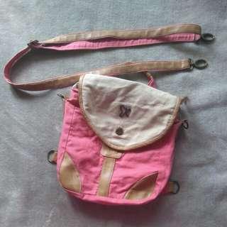 Backpack / sling bag Threerey