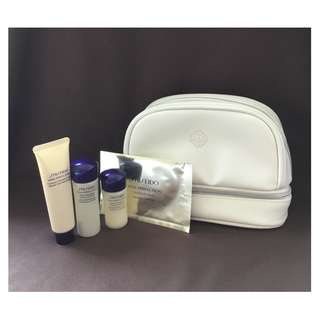 Shiseido Vital-Perfection 4-Piece + Cosmetics Pouch