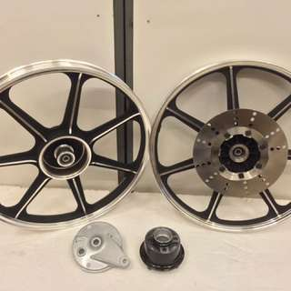 RXZ KR FULL CHOP AR/GTO RIMS SET