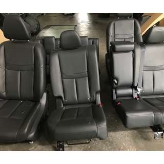 Leather Seat Nissan X-Trail Full Set
