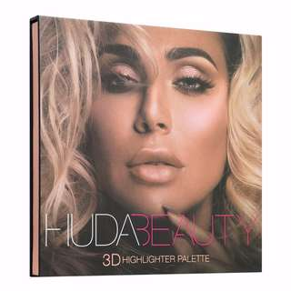 ✨INSTOCK SALE: HUDA BEAUTY 3D HIGHLIGHT PALETTE