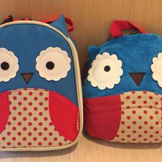 Skip Hop Insulated Lunch Bag and Travel Blanket