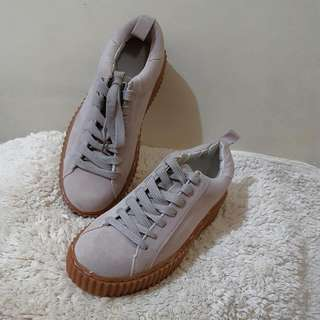 New Look Original Authentic 100% - Sneaker Casual Shoes, Pink Nude Colour, Size EUR 38 UK 5