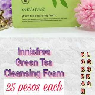Innisfree Green Tea Cleansing Foam 4 ml