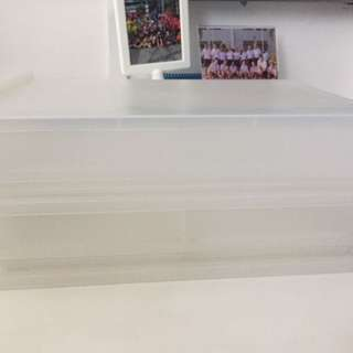 Muji PP Storage Drawer Wide Type (W37xD26xH9)